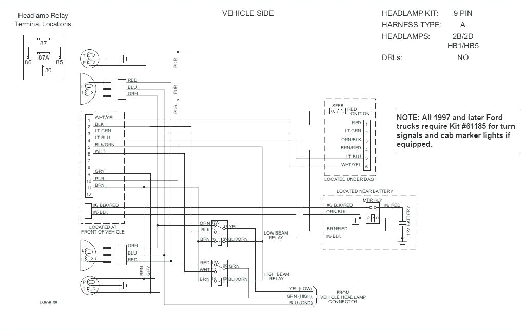 Fisher Plow Wiring Diagram Minute Mount 1 Fisher Plow Wiring Harness Wiring Diagram Operations