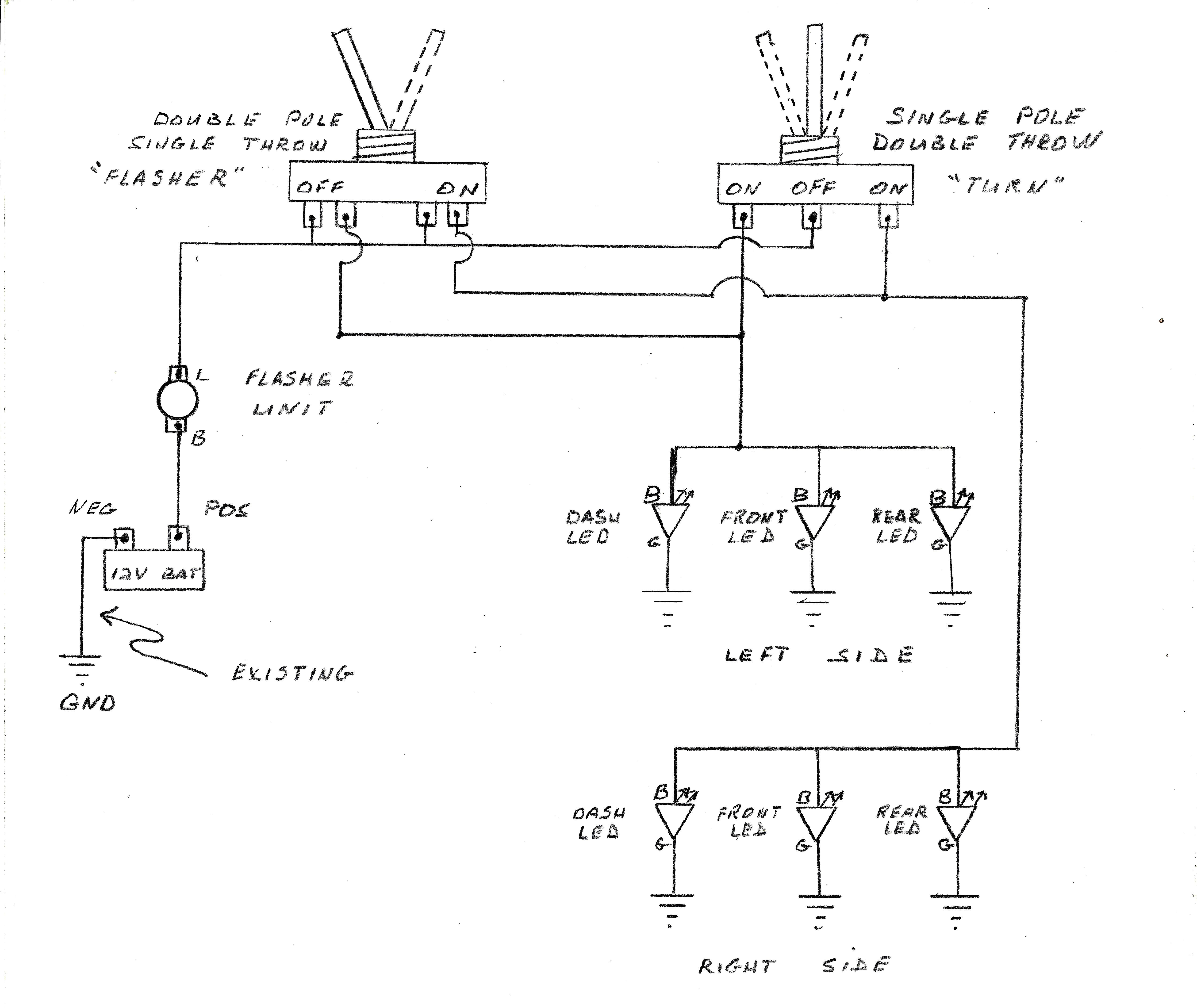 signal light flasher wiring diagram best of wiring diagrams for turn signal fresh diagram new sw em od random