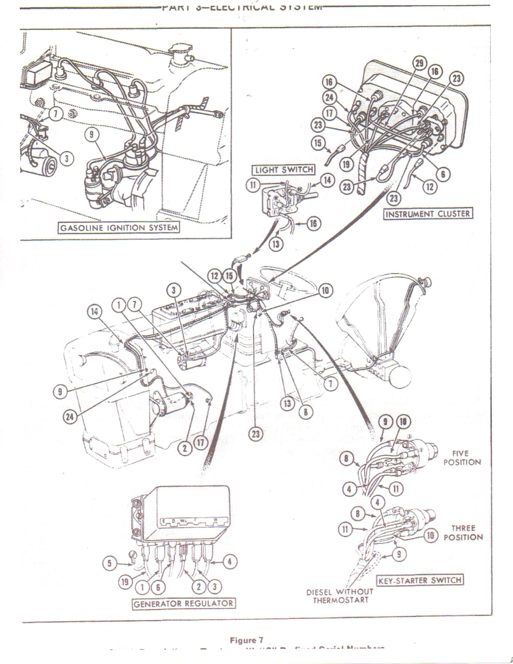 ford tractor starter wiring wiring diagram used