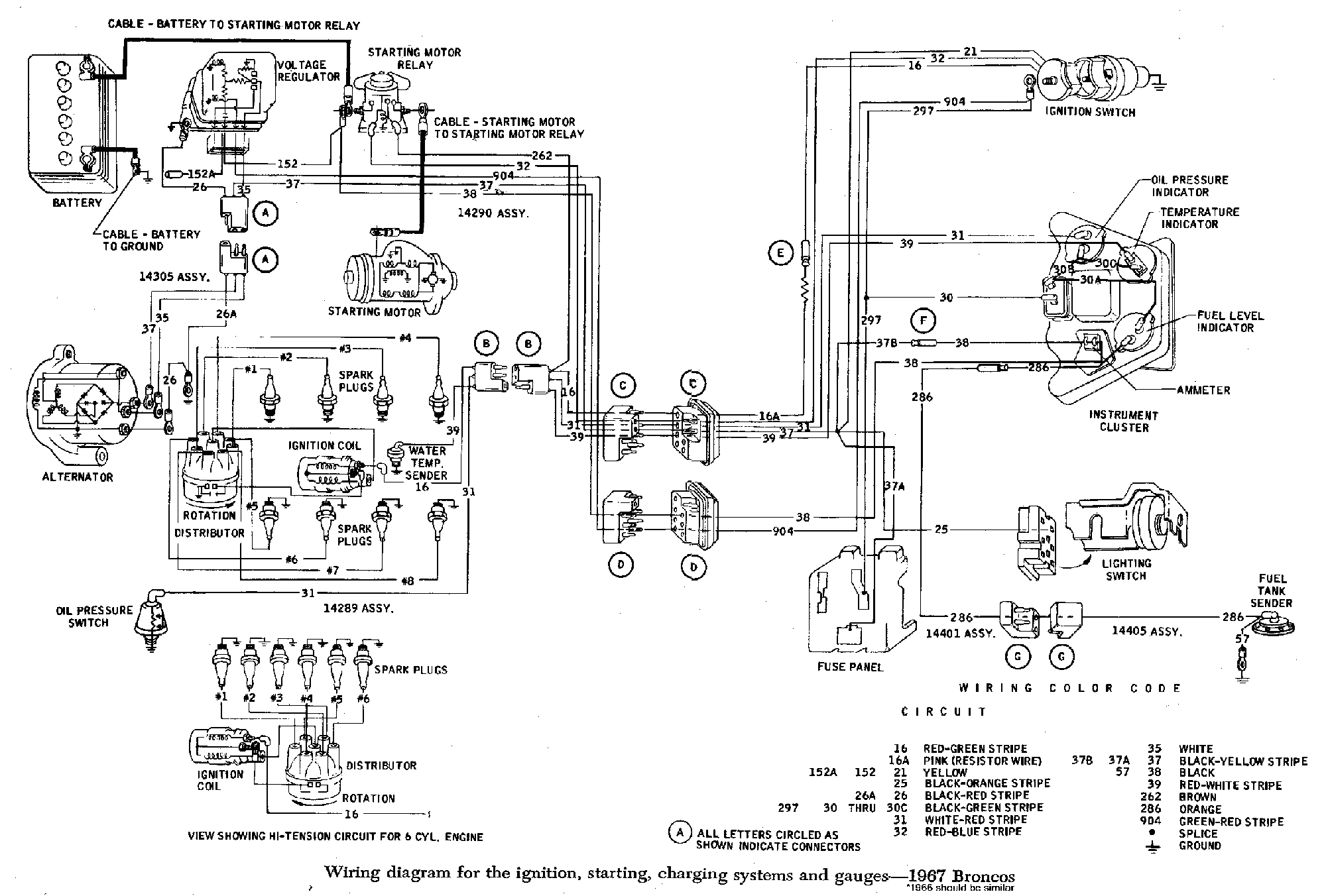 Ford Bronco Wiring Diagram Wiring Diagram for 1974 ford Bronco Wiring Diagram Insider