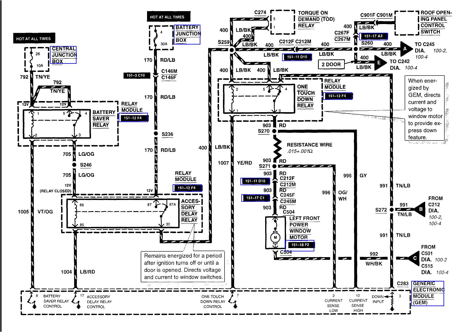 Ford Explorer Wiring Diagram Electrical Wiring Diagrams ford Explorer Window Wiring Diagram New