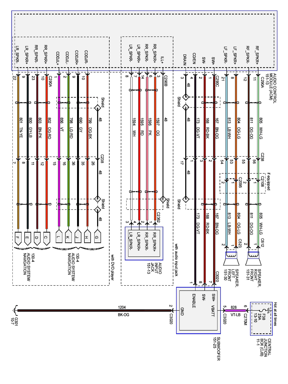 2008 ford car stereo wiring wiring diagram datasource 2008 ford f 150 radio wiring diagram