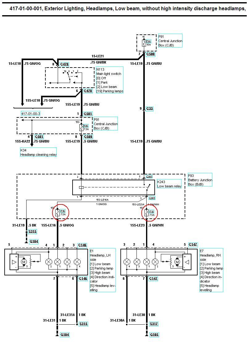 xenon oem headlight retro fit guide www fordwiki co uk rh fordwiki co uk ford mondeo mondeo wiring diagram books