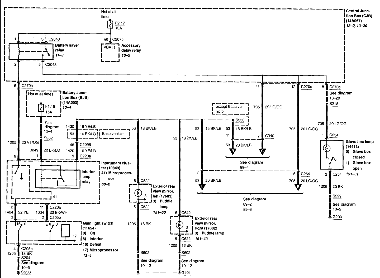 Ford Ranger Dome Light Wiring Diagram Dome Light Wiring Diagram ford Wiring Diagram