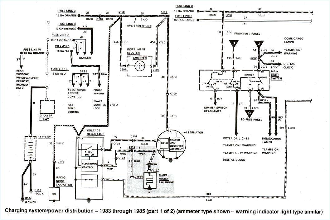 1985 ford ranger electrical wiring diagram wiring diagram expert 1985 ford ranger electrical wiring diagram