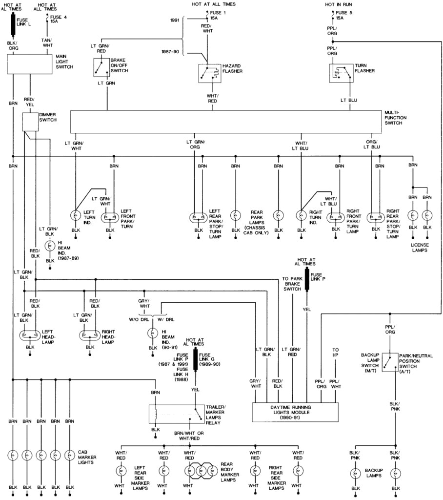 stop light wiring diagram 91 corolla wiring diagram centre tail and stop light wiring diagram free picture