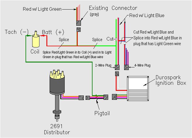 Ford Tfi Module Wiring Diagram ford 2 8l Duraspark Ignition Conversion Bronco Ii Corral