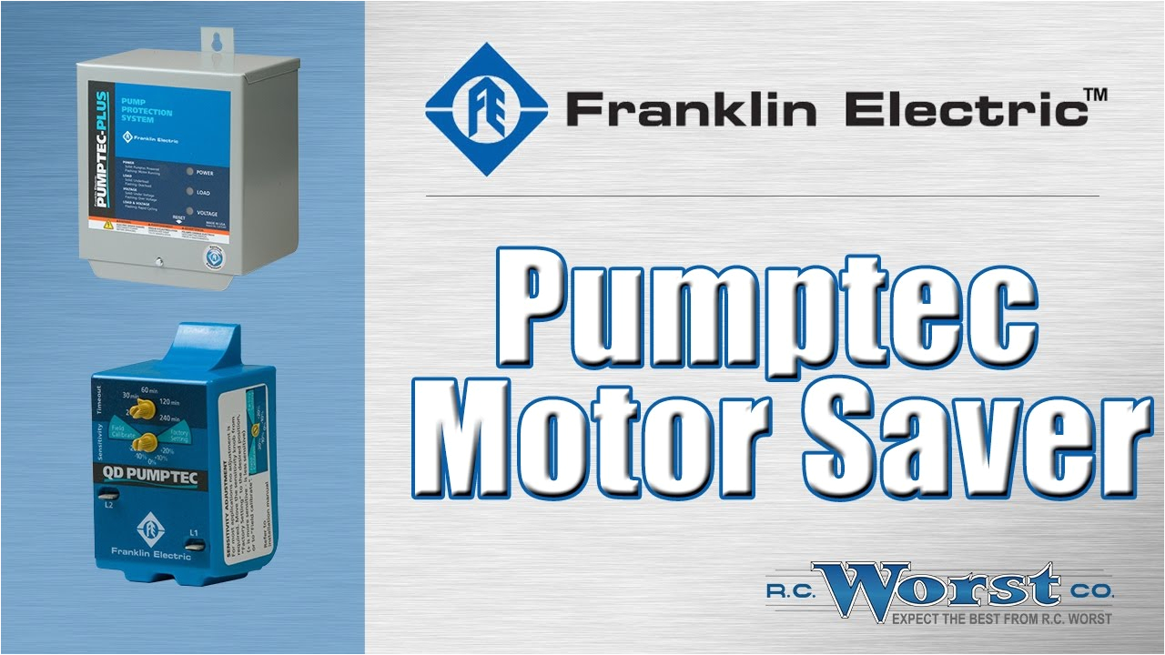 franklin electric pumptec motor saver devices