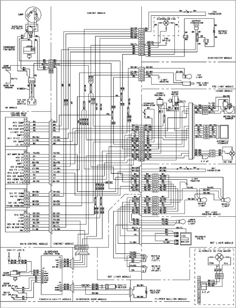 fridgemaster thermostat wiring diagram beautiful kenmore refrigerator ice maker schematic get free image about wiring