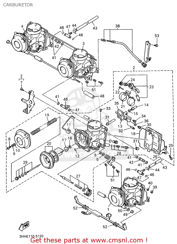 yamaha fzr600 rh 1996 carburetor bigyau1439b 7 c6ff gif