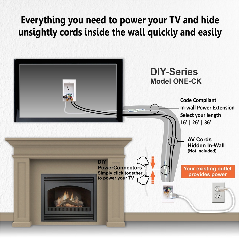 hiding wires on wall mounted tv above fireplace extension kit wiring a fireplace outlet wiring a fireplace