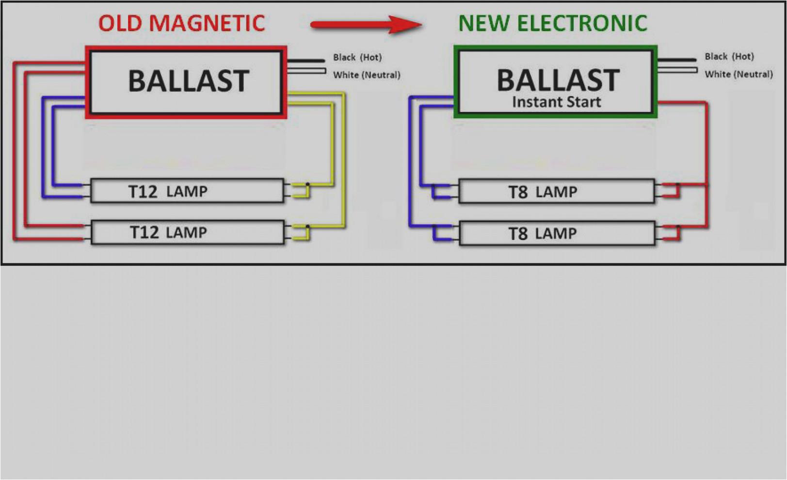 t8 t12 ballast diagram wiring diagram used