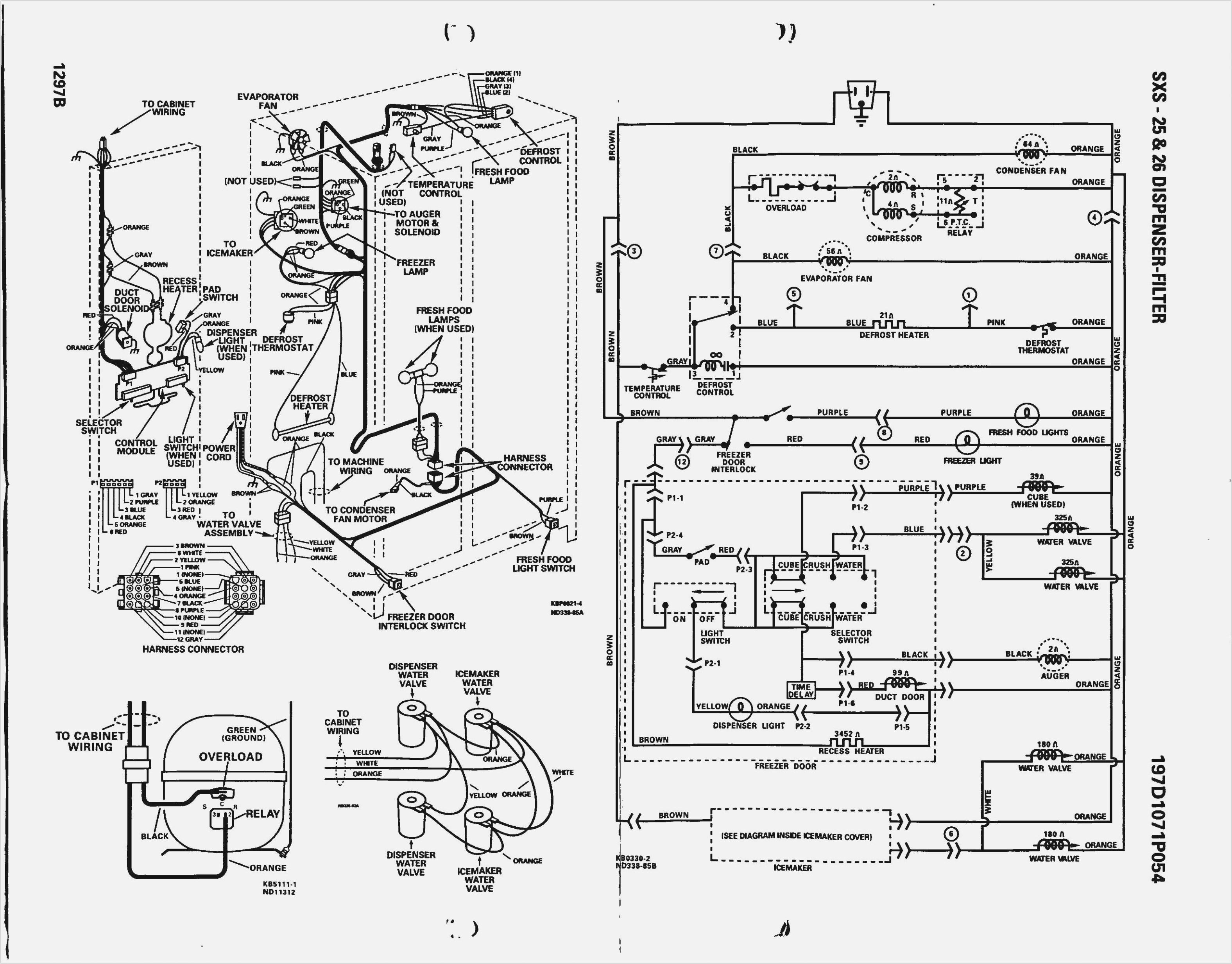 ge defrost timer wiring wiring diagram database whirlpool upright freezer wiring diagram