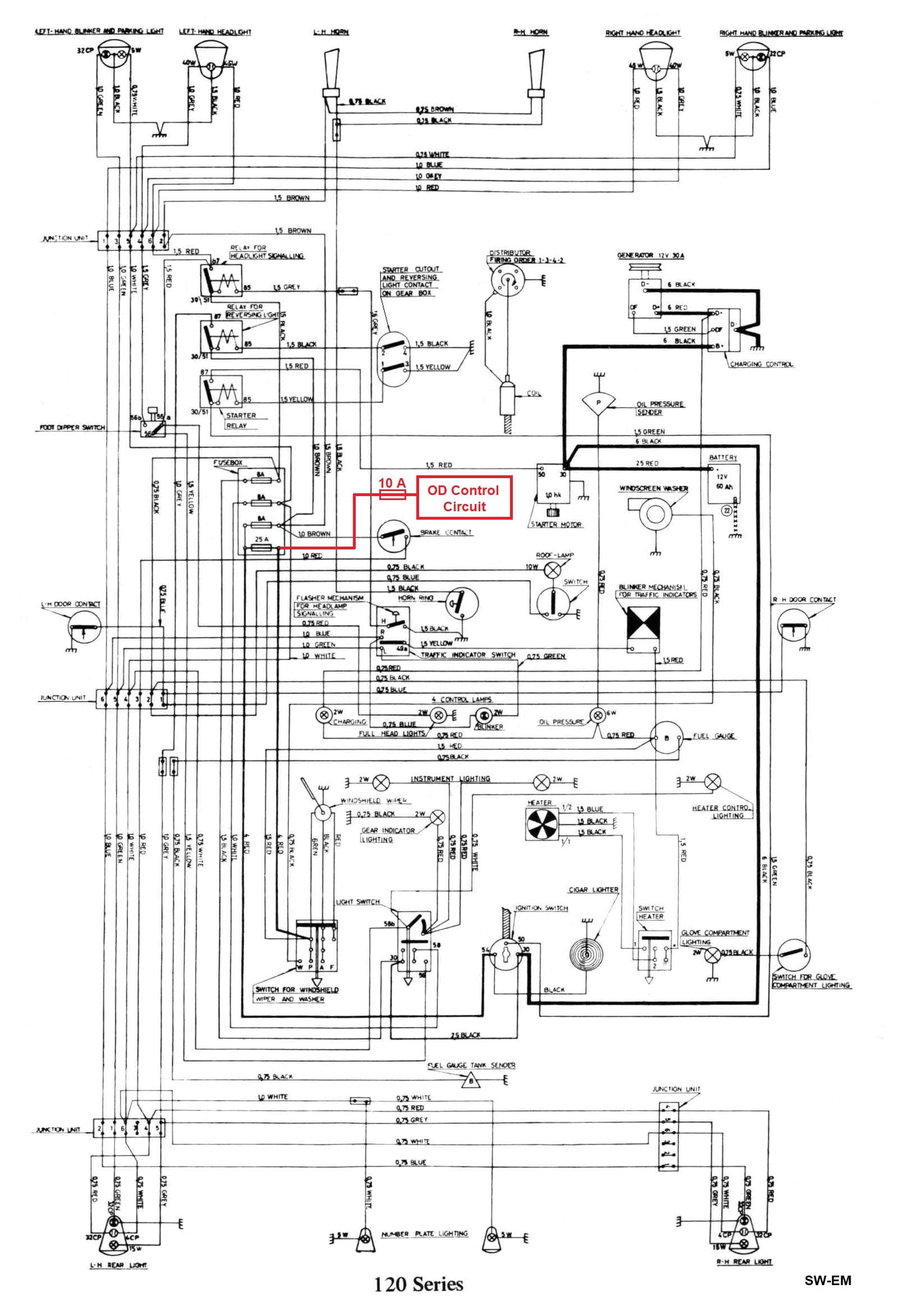 gen tran wiring diagram lovely sw em od retrofitting on a vintage volvo