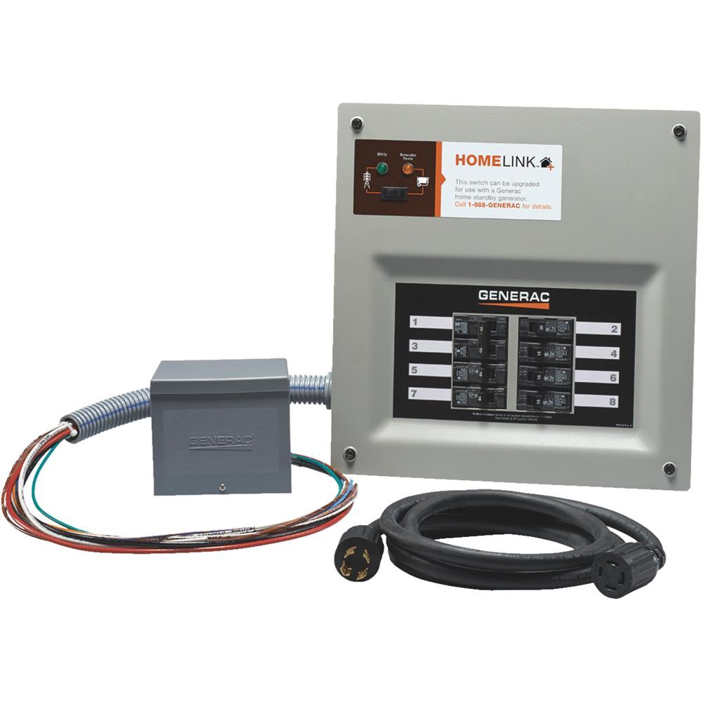 generac power systems homelink man switch kit 6853