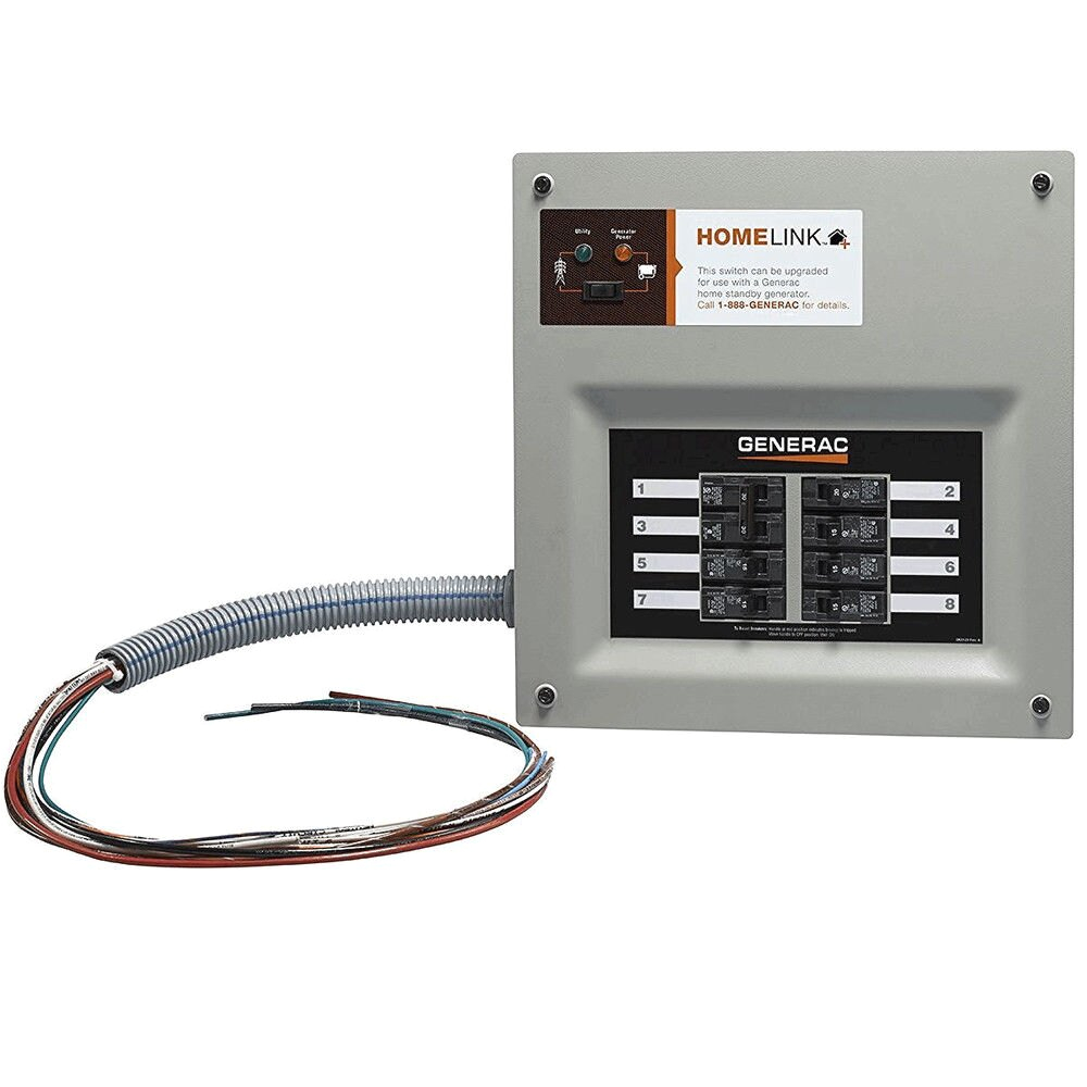 generac 30a indoor transfer switch kit for 6 8 circ stand alone 6852 new