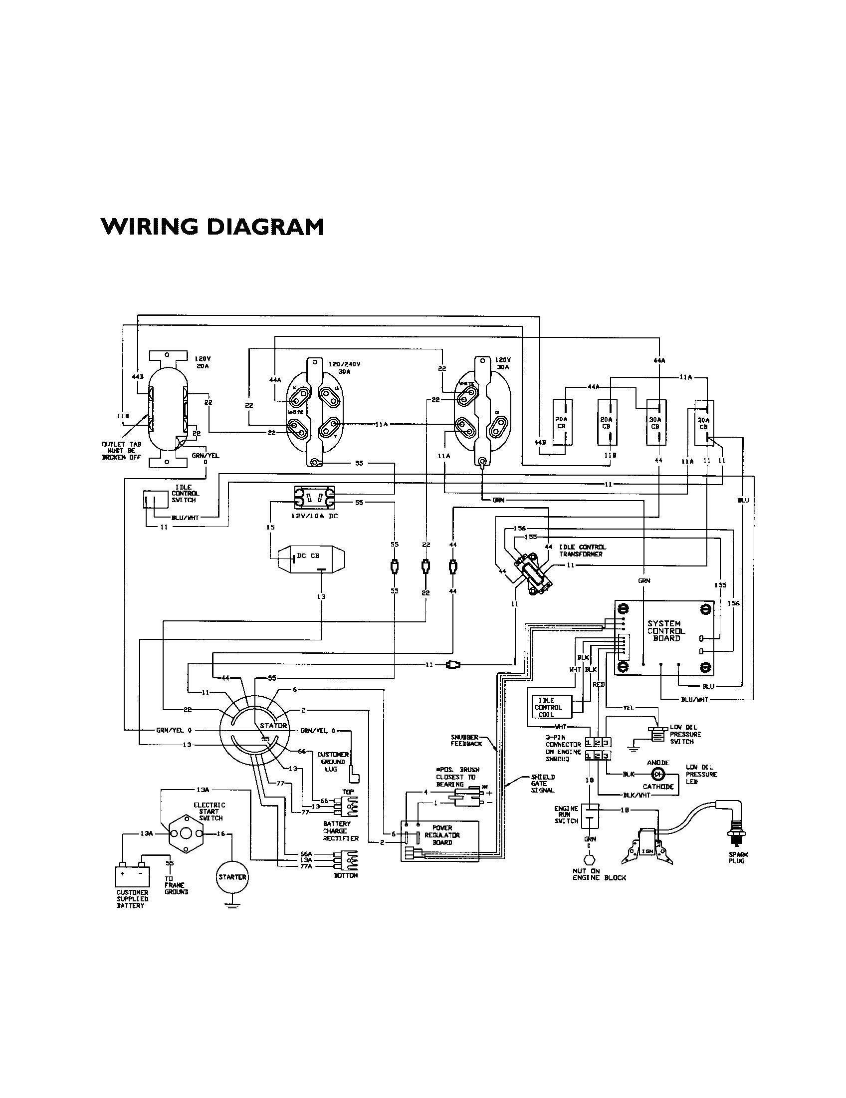 Generac Generator Wiring Diagram Generac Rtf 3 Phase Transfer Switch Wiring Diagram Just Wiring Diagram