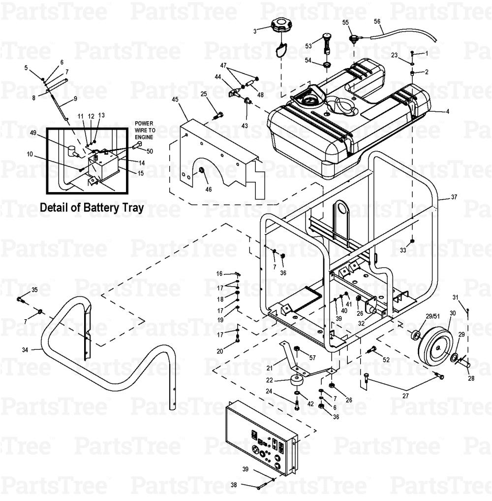 Generac Gp17500e Wiring Diagram Generac Power 0057351 Gp17500e Generac Gp17500e Portable