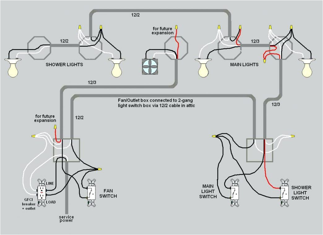 Gfci Outlet with Switch Wiring Diagram Electrical House Wiring Circuit Further Dimmer Switch Circuit