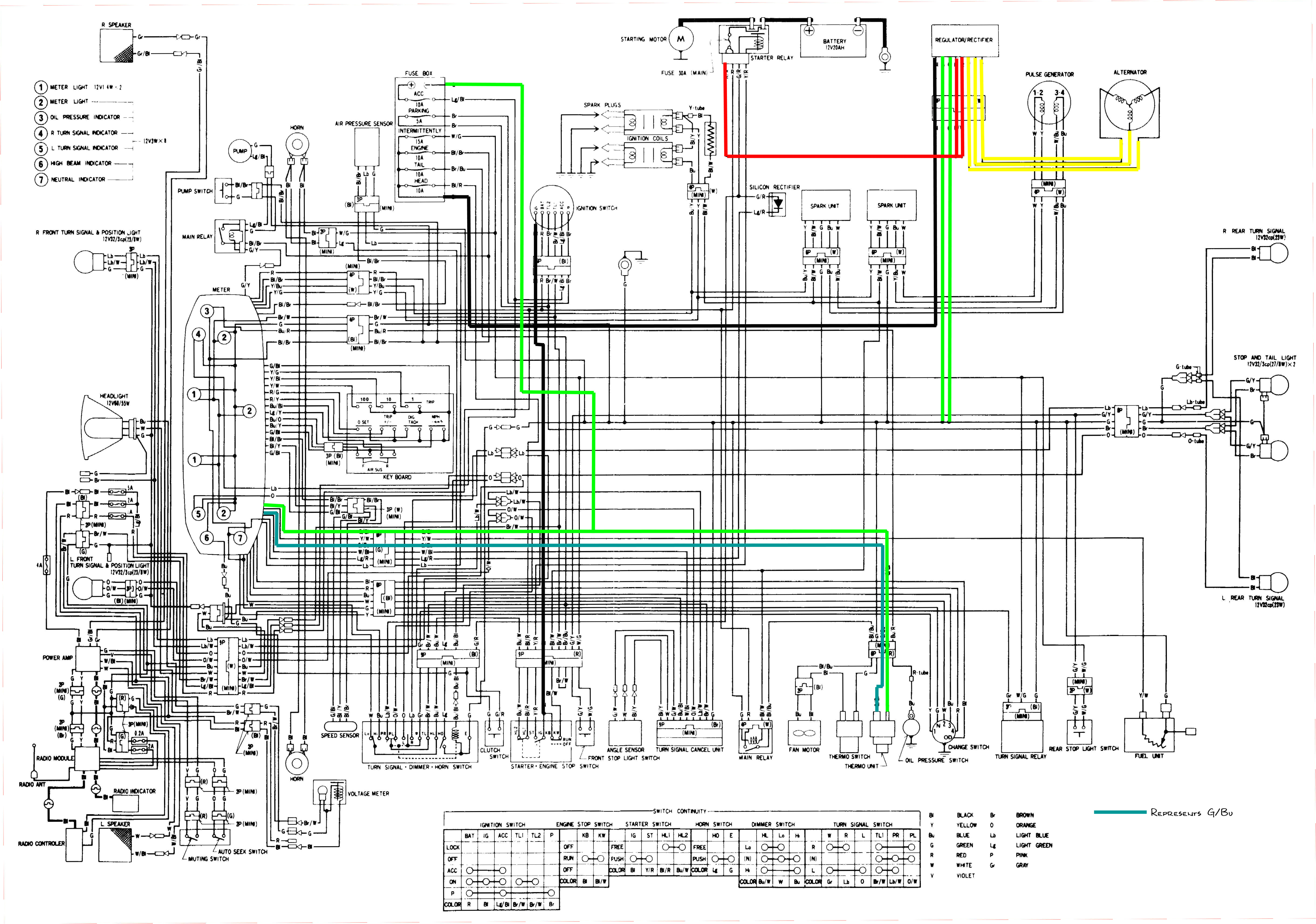 83 goldwing wiring diagram wiring diagrams gl1100 standard 1983 color schematic diagram 517 kb