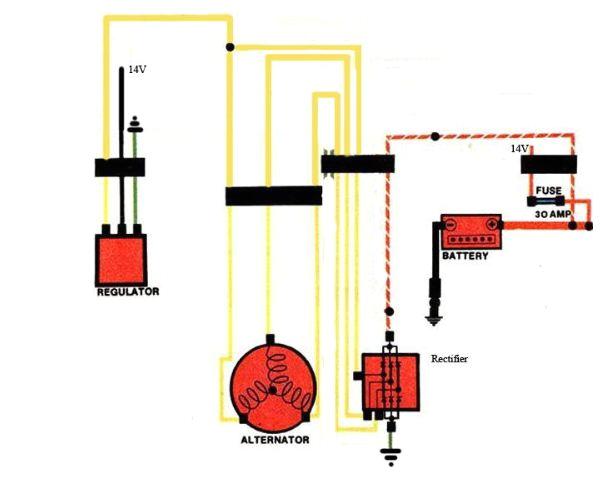wiring diagram gl1100 auto meter wiring diagram toolboxcomprehensive gl1000 charging system troubleshooting randakk u0027s blog