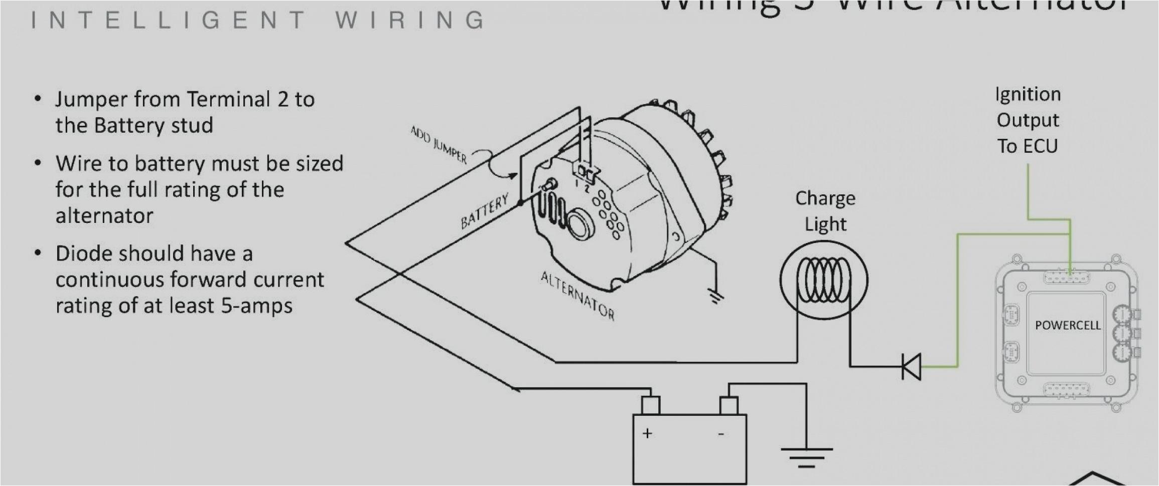 Gm 3 Wire Alternator Wiring Diagram 3 Wire Alternator Wiring Diagram Fresh Gm Alt Wiring Diagram Wire