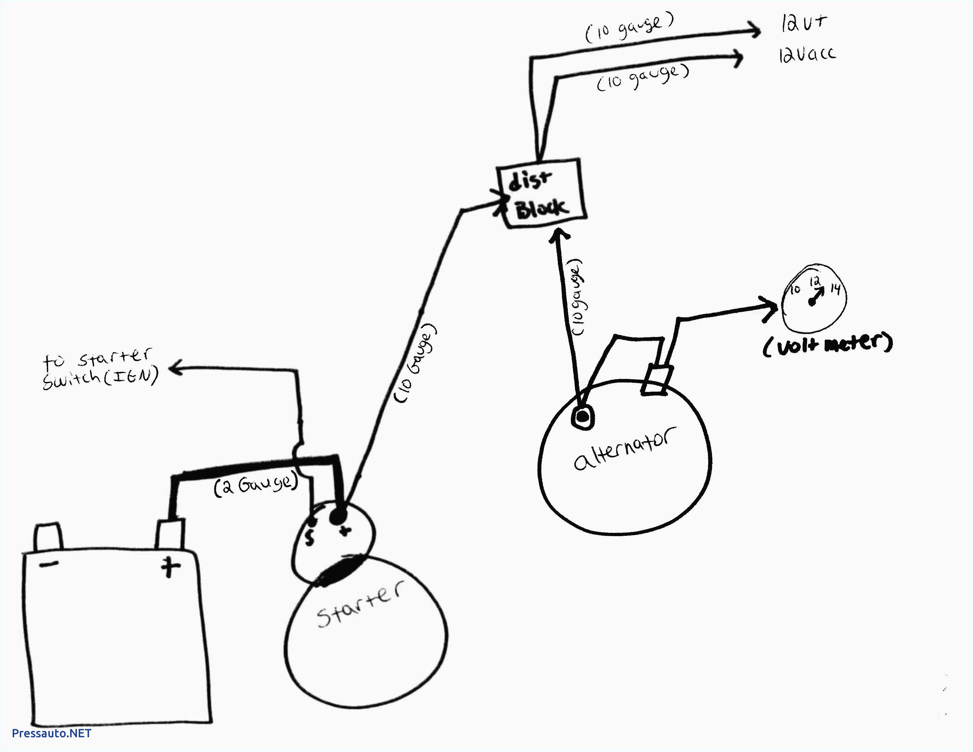 gm alternator wiring diagram 3 wire