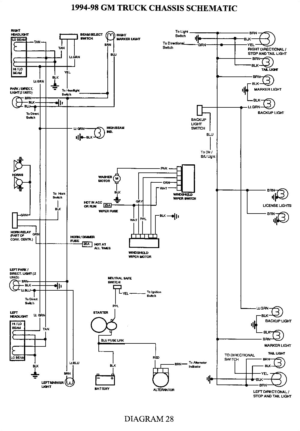 1951 chevy truck wiring harness diagram free download wiring chevy truck headlight switch wiring diagram free picture