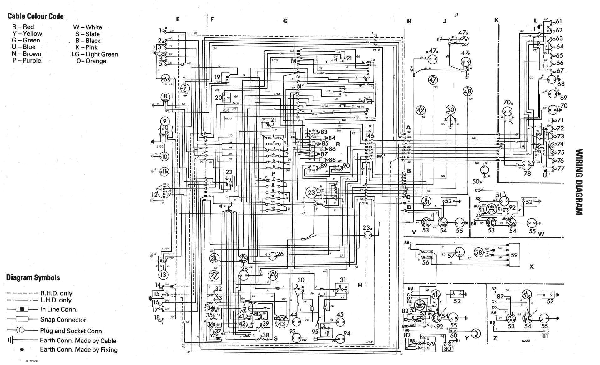 electrical wiring diagram of volkswagen golf mk1 jpg