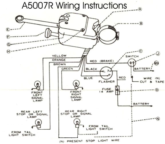 light switches turn signal switches and door switches 6 volt turn signal wiring diagram 6 volt turn signal wiring diagram