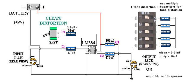 picture of parts list wiring diagram