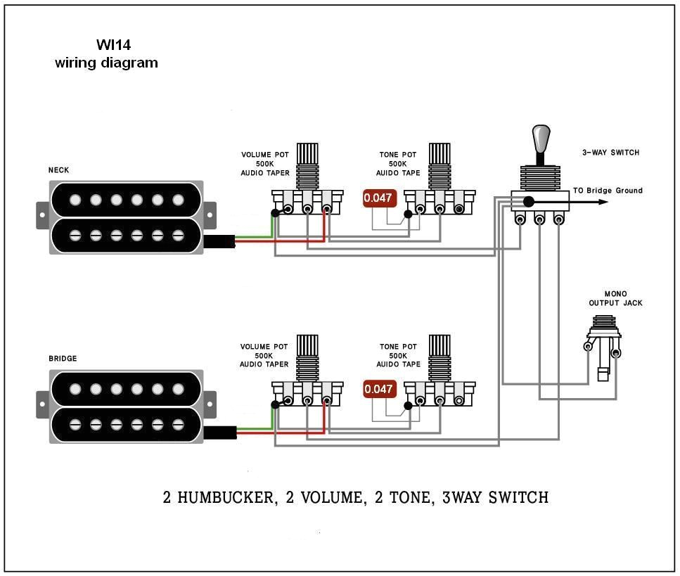 fine wiring diagram for electric guitar wiring diagram electric guitar wiring diagrams and schematics electric guitar wiring diagrams wi14 wiring diagram 2 humbucker 2 volume 2 tone 3 way switch jpg