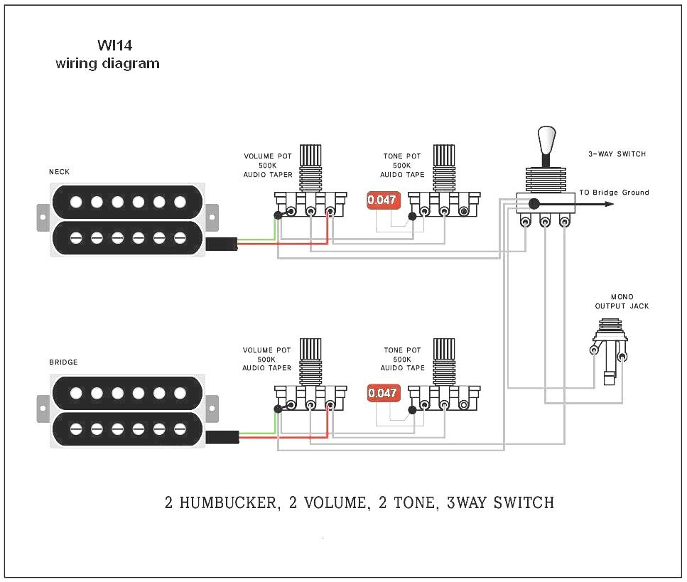guitar wiring diagrams 2 pickups wiring diagram2 pickup wiring diagram 13