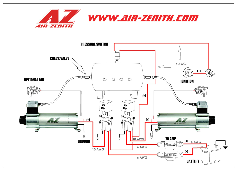 air horn wiring diagram installation instructions