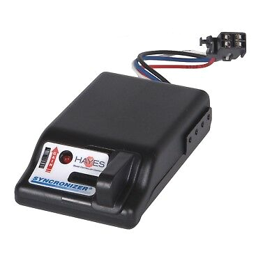 hayes towing electronics 81725 synchronizer trailer brake controller