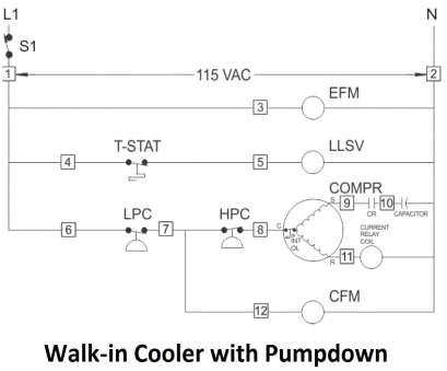 wiring diagram for walk in cooler wiring diagram list