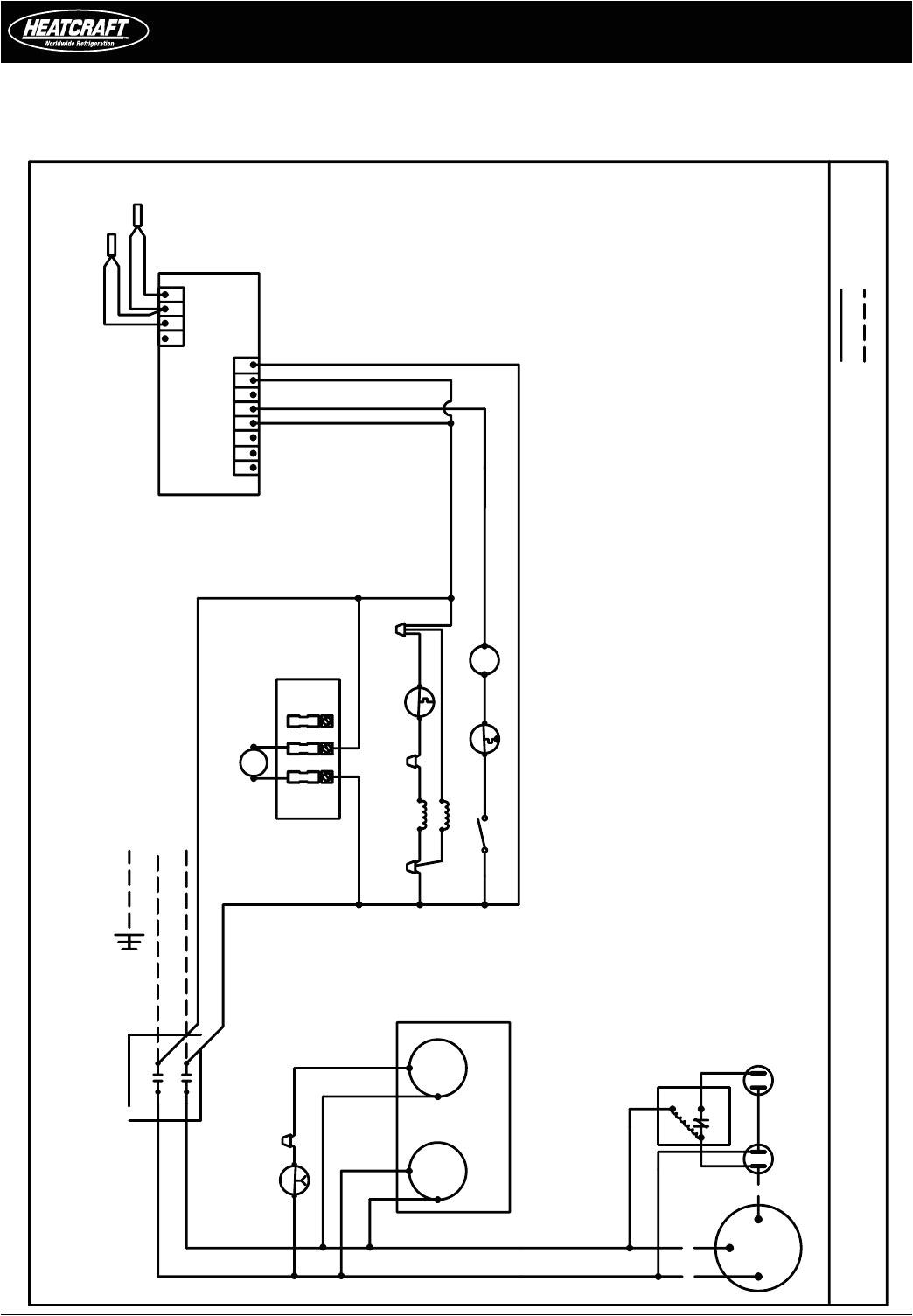 heatcraft walk in cooler wiring diagram download