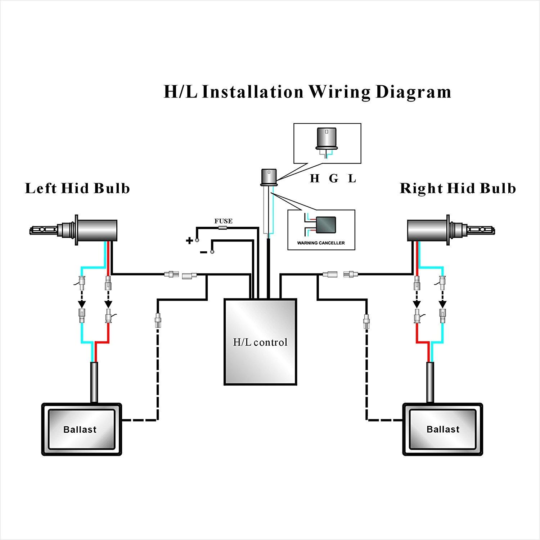 hid wiring harnes diagram