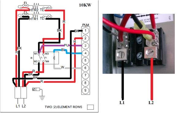 wiring to heat strip for heat pump system doityourself comwiring to heat strip for heat pump