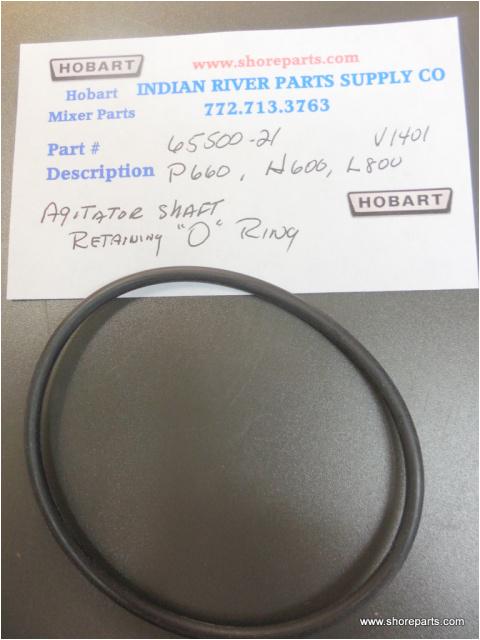 hobart mixer p660 h600 l800m m802 agitator shaft o ring part 67500 21