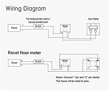 Hobbs Hour Meter Wiring Diagram Mod Meter Wiring Diagram Wiring Diagram for You