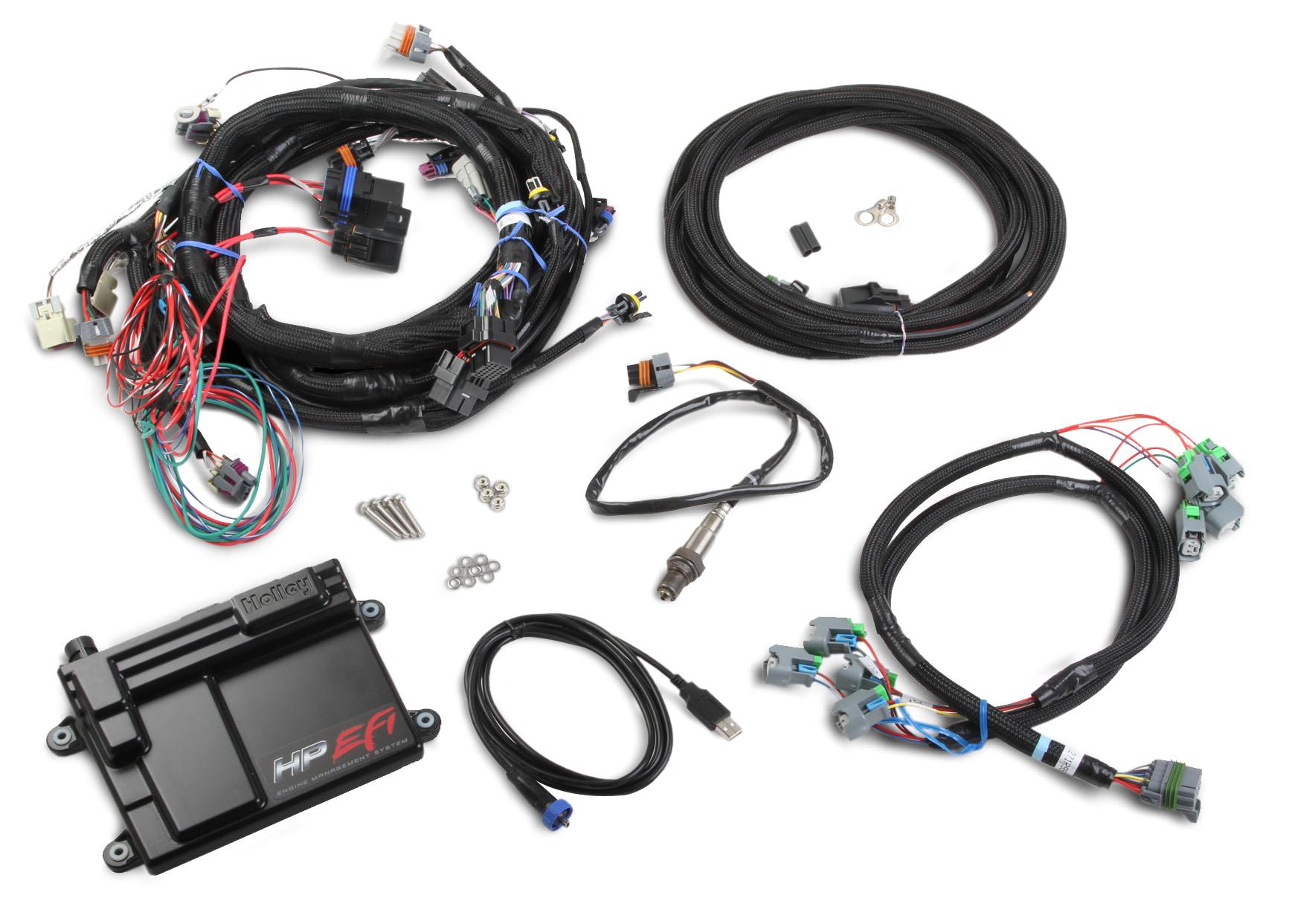 holley gm ls2 ls3 ls7 hp efi ecu u0026 harness kitsgm efi wiring harness