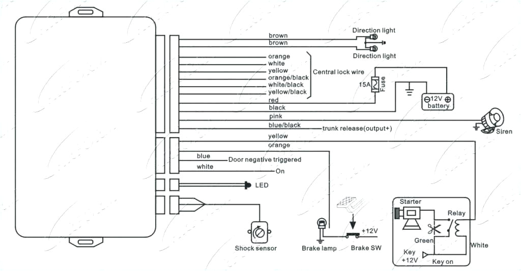 car alarm wiring diagrams wiring diagram centre standard security system wiring