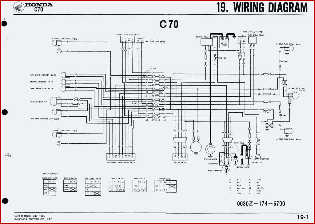 Honda C70 Wiring Diagram Images 1985 C70 Wiring Diagram Data Wiring Diagram