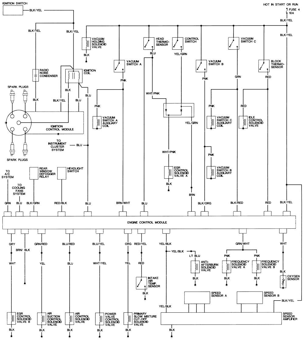 94 honda civic wiring diagram wiring diagrams konsult 1994 honda civic dx radio wiring diagram 93