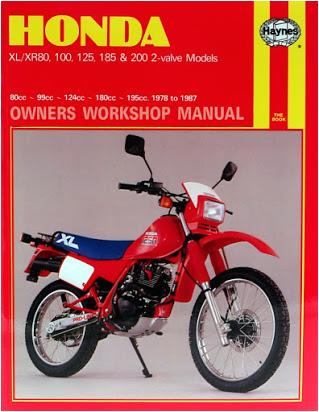 Honda Xr 125 Wiring Diagram Honda Xlr 125 Manual Pdf