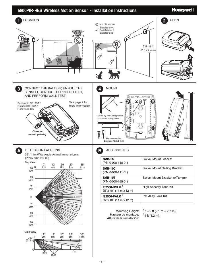 honeywell 5800pirres install guide 1 728 jpg