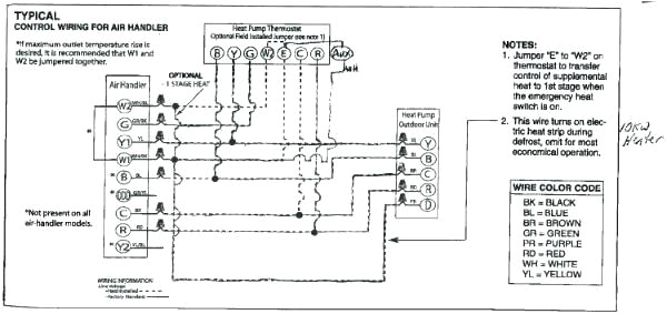 honeywell pump wiring diagram