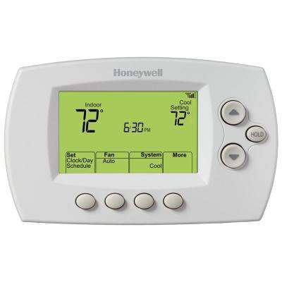 wi fi 7 day programmable thermostat free app