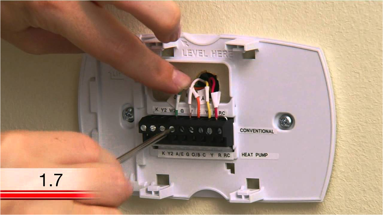 honeywell rth6580wf wi fi tstat extra wire installation video